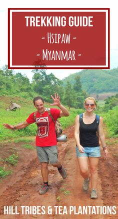 Budget Backpackers Guide to Adventure Trekking around Hsipaw hill tribe tea plantations. Is it safe? What does it cost? 1/ 2/ 3 day group tours in Shan Palaung village   Globemad Blog