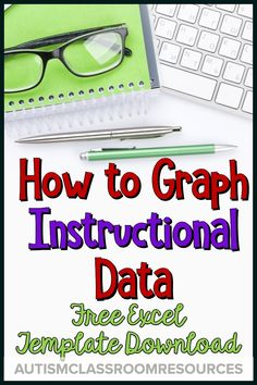 Teachers who graph their data have students who make progress faster.this tutorial and template can help you make a system that will work for data for your special education classroom. Teaching Special Education, Teaching Resources, Classroom Resources, Teaching Ideas, Autism Resources, Teaching Tools, Speech Therapy Autism, Data Binders, Student Performance