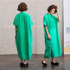 Vrouwen zomer linnen losse kleding