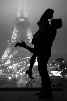 """One day we're gonna live in Paris. I promise.""<3<3<3   Romantic City - Paris - Love"