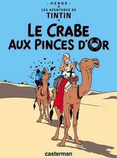 Cover for Les Aventures de Tintin (Casterman, 1934 series) #9 [1941 edition] - Le Crabe Aux Pinces D'or