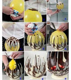 Chocolate fruit bowl ...WOW!