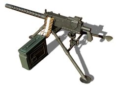 The Browning M1919 is a MUST HAVE to defend the perimeter against walkers...or bad dudes