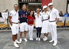 I looove the USA Olympic uniforms designed by Ralph Lauren! SO rich and classy!