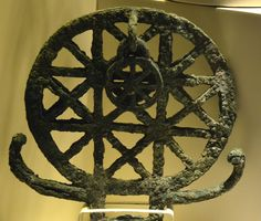 Hittite sun standard from Alacahöyük, 2500 BC. Artifacts found from The Museum of Anatolian Civilizations in Ankara, Turkey. (Photo by Marko Manninen)