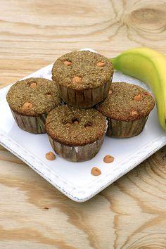 Quinoa Banana Butterscotch Muffins
