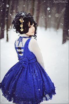 Lolita in the snow