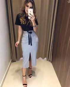 In Love   T-Shirt Angelica Preta   Saia Mônica   Compras on line:  www.estacaodamodastore.com.br  Whats app: (45)99820-6662 - Andreia  #VAREJO  #ATACADO ☎️SAC: (45)3541-2940 ou 3541-2195  E-mail: vendas@estacaodamodastore.com.br  Facebook: Estação Store