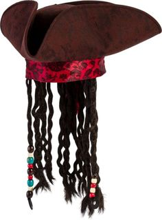 Pirate Hat With Braids - Party City