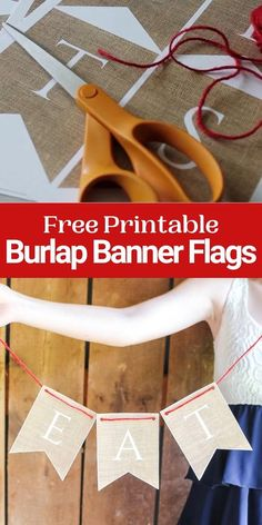 Print your own burlap banner for weddings, parties, and so much more! Free printable banner that looks like burlap. #burlap #wedding #printable #freeprintable Craft Projects For Adults, Easy Craft Projects, Diy Projects Videos, Craft Videos, Halloween Porch Decorations, Diy Halloween Decorations, Free Printable Banner, Free Printables, Printable Art