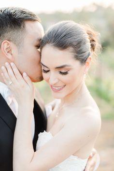 Bride and groom in the vineyards, Santalux Club wedding reception, Cavin Elizabeth Photography