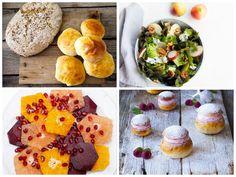 My citrus salad appering in a blog post at Matbloggsentralen
