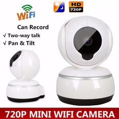 Wireless WIFI HD720P Record Camera Video Surveillance Security Network Baby…