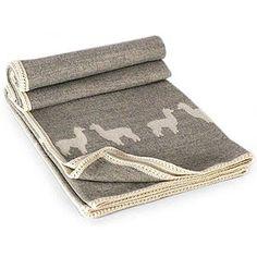 The Novica Alpaca Shadows Alpaca Wool Throw Blanket