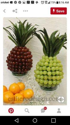 Ideas For Fruit Table Decorations Center Pieces Pineapple Centerpiece