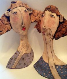 Ceramic works by Sarah Saunders #ceramic #sculpture #art