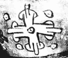 Naz cross eye-The first page of the Mayan Codex Ferjervary-Mayer represents the five regions of the world-  serbian symbol 4C..Mayan civilization