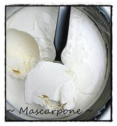 """""""Homemade Marscapone for pennies to the pound, YES!"""" I LOVE mascarpone but it's so dang expensive! This is exactly what I need!"""