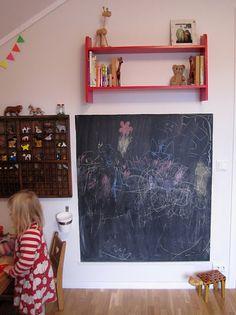 chalkboard for K's room