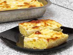 Plăcintă cu brânză telemea şi iaurt