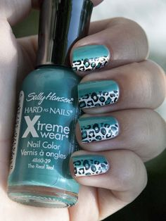 I never thought about two colors and stamping over just one. I like it!