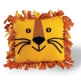 """Lion"" No-Sew Fleece Pillow - Step 6 can make all different kinds of animals"