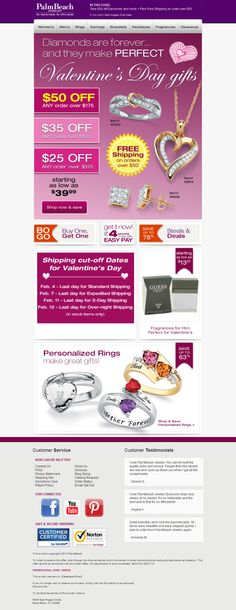 PalmBeach Jewelry -  $50 Off Your Order Today! + Free Shipping