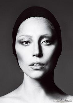 Lady Gaga by Mert Alas and Marcus Piggott for American Vogue September 2012