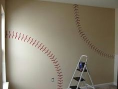 Baseball or sports themed room $39.99 for the red socks side