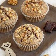 Moelleux aux noix et chocolat