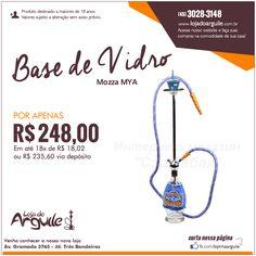 Arguile Mozza MYA POR APENAS R$ 248,00 Em até 18x de R$ 18,02 ou R$ 235,60 via depósito  Compre Online: http://www.lojadoarguile.com.br/arguile-mozza-mya