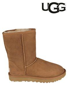 UGG   Classic Short   Ankle boots   Cognac   MONFRANCE Webshop