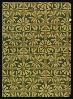 'Trellis' #wallpaper dado by Lewis Foreman Day, England, ca. 1887-1900 l Victoria and Albert Museum