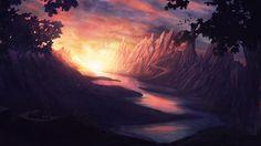 cave castle HD Desktop