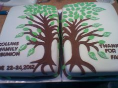 Family reunion cake in collaboration with Cupz n Cake. Family Reunion Cakes, Family Tree Cakes, Family Reunions, Cake Creations, Sugar Cookies, Collaboration, Cake Decorating, Sheet Cakes, Baby Cakes