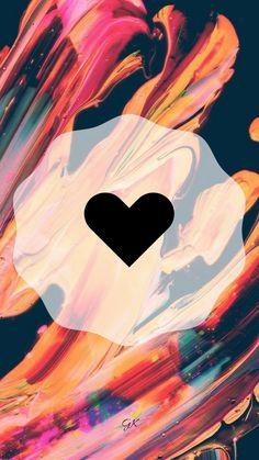 #instagram #insta #capa #storie Apple Wallpaper Iphone, Wallpaper For Your Phone, Heart Wallpaper, Love Wallpaper, Insta Icon, Heart Background, Instagram Logo, Instagram Story Template, Instagram Highlight Icons