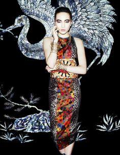 Saki Asamiya by Matt Irwin for Vogue Japan April 2013 5 Fashion Cover, Japan Fashion, Love Fashion, Fashion Mag, Modern Fashion, Fall Fashion, Style Fashion, Vogue Japan, Campaign Fashion