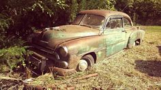 Long Forgotten: 1951 Chevrolet Deluxe Coupe #BarnFinds #American, #Chevrolet, #Coupe - http://barnfinds.com/long-forgotten-1951-chevrolet-deluxe-coupe/