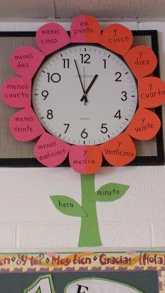 Muy buena idea para enseñarle a leer el reloj