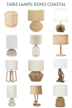 Bedside Table Decor, Table Lamps For Bedroom, White Table Lamp, Bedroom Decor, Nightstand Lamp, Night Table Lamps, Lamp Table, Nightstands, Boho Room
