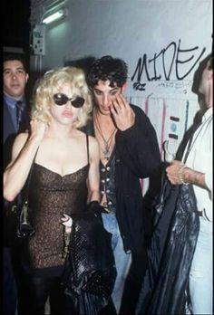 Madonna, Jean Paul Gaultier & Tony Ward in Paris, 1990.