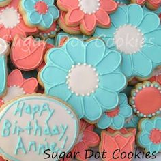 Sugar Dot Cookies: How to Make Flower Centers - Royal Icing Sugar Cookies