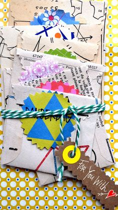 ingthings: DIY little envelopes with a message...♥