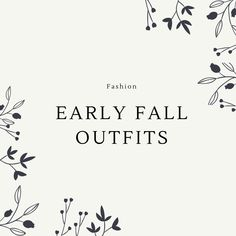 Early Fall Classic Outfits For Women, Early Fall Outfits, Fall Trends, Clothes For Women, Pretty, Outerwear Women