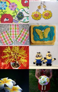 Dreaming of Spring ! by Linda on Etsy--Pinned with TreasuryPin.com