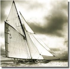 """The Quinze Metre """"The Lady Anne"""", photo by Michael Kahn. Classic Sailing, Classic Yachts, Yacht Design, Naval, Sail Away, Isle Of Wight, Wooden Boats, Tall Ships, Sailing Ships"""
