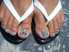 Zebra toes