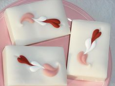 Valentine Soap / Love Spell Type / Heart Soap / Cold Process Handmade Soap by JoansGardens on Etsy #WSPHandmade #Soaping