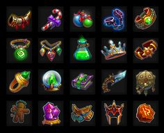 Heroes&Puzzles on Behance Fantasy Armor, Fantasy Weapons, Lion Games, Big Fish Games, Hidden Object Games, Game Environment, Rpg Maker, Game Icon, Game Concept