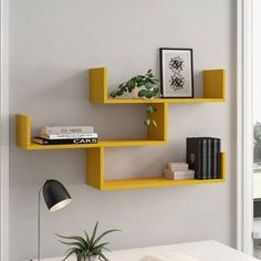 Wall shelves & hanging shelves – Home Decoration Ideas Unique Wall Shelves, Cube Shelves, Wall Shelves Design, Room Shelves, Hanging Shelves, Display Shelves, Floating Shelves, Wall Shelving, Wall Rack Design
